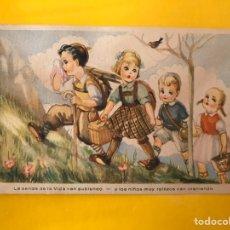 Postales: DIBUJOS Y CARICATURAS. POSTAL: ALELUYAS CONYUGALES. EDITA: ED. DE ARTE SERIE /31 (A.1944). Lote 194648418