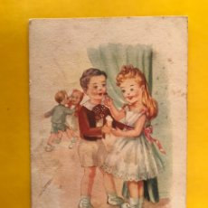 Postales: DIBUJOS Y CARICATURAS. POSTAL: AMOR CON AMOR..ILUSTRA: GIMONA EDITA: EDITORIAL ARTIGAS S/3025. Lote 194650215