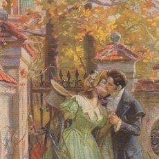 Postales: TARJETA POSTAL ILUSTRADA ROMANTICA. SIN CIRCULAR.. Lote 194719567