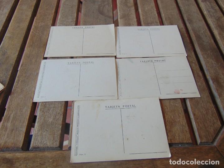 Postales: TARJETA POSTAL LOTE DE 5, CHISTES Y CARICATURAS EDICIONES VANDALIA SEVILLA AÑOS 40 - Foto 5 - 194774323