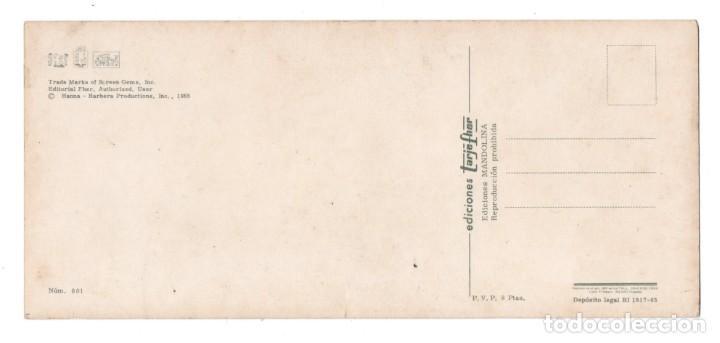 Postales: POSTAL INFANTIL- PICAPIEDRAS - FLINTSTONES - EDICIONES FHER - 23.5 CM X 11.5 CM - AÑO 1965 - Nº 801 - Foto 2 - 194872690