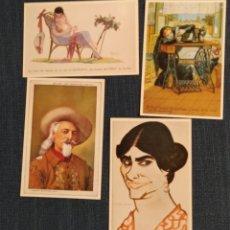 Postales: LOTE DE 4 POSTALES HISTORIA GRÁFICA DEL SIGLO XX. Lote 194959801