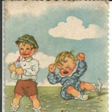 Postales: POSTAL *ILUSTRADA POR J. BERMUDO* EDICIONES LUKER SERIE Nº 4038 - DATA 1949. Lote 194974820