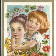 Postales: POSTAL ANCORA, ANCLA 2025 - CON PURPURINA - AÑO 1959. Lote 194977455