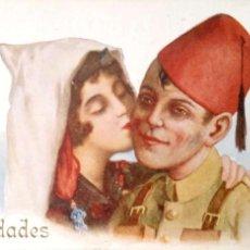 Postales: EL ADIÓS AL NOVIO DE J. IBÁÑEZ. 909 EDICIONES VICTORIA. NUEVA. COLOR. Lote 194985726