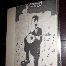 Postales: Nº 36084 POSTAL PORTUGAL COIMBRA CARICATURA DESENHO FERNANDO DORES. Lote 194993987