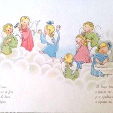Postales: ANGELES HACIÉNDOSE LA TOILETTE. CASA BAÑERES. NUEVA. COLOR. Lote 195064682