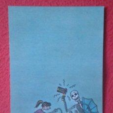 Postales: POSTAL POST CARD 1981 EL FUTURO PARA LA JUVENTUD ORIGINAL DE SWARTE EDICIONES LA CÚPULA CALAVERA..... Lote 195198988