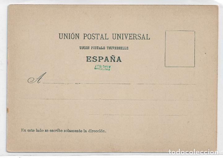Postales: SÁTIRA ANTICLERICAL - TODO POR TÍ GLORIOSO SAN DINERO - P30058 - Foto 2 - 195216418