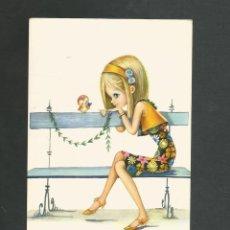 Postales: POSTAL CIRCULADA DIBUJO EDITA CYZ 6650. Lote 195225418