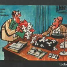 Postales: POSTAL SIN CIRCULAR - LOTERIA NACIONAL - SERIE E - MINGOTE DIBUJOS HUMORISTICOS - EDITA LOTERIA. Lote 195225475