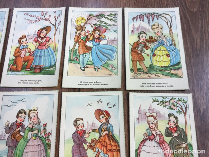 Postales: COLECCIÓN DE DIEZ POSTALES ILUSTRADOR GEZA ZSOLT - Foto 3 - 195260628