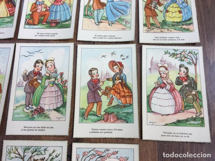 Postales: COLECCIÓN DE DIEZ POSTALES ILUSTRADOR GEZA ZSOLT - Foto 4 - 195260628