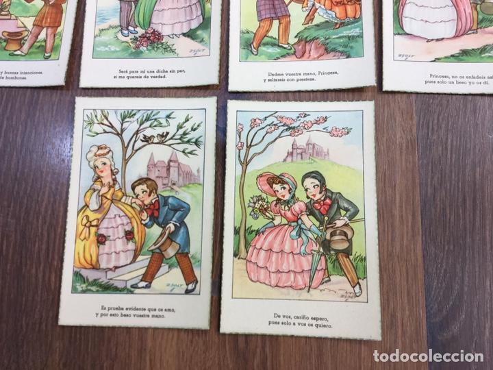 Postales: COLECCIÓN DE DIEZ POSTALES ILUSTRADOR GEZA ZSOLT - Foto 6 - 195260628