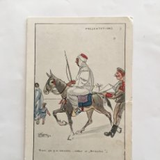 Postales: POSTAL. THE CAPTURED BEAST. FRANCE. ALGERIE. TUNISIE. JEAN BERNARD, EDIT. NIMES.. Lote 195359028