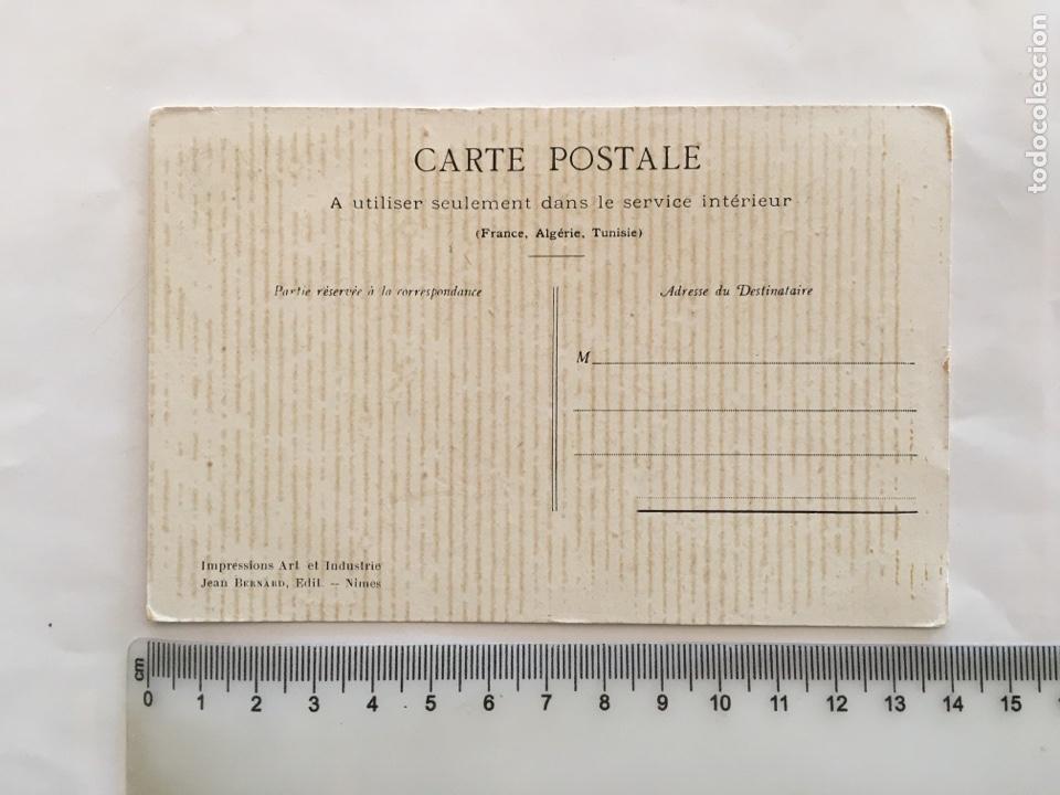 Postales: POSTAL. KNOCKED OUT. FRANCE. ALGERIE. TUNISIE. JEAN BERNARD, EDIT. NIMES. - Foto 2 - 195359373