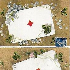 Postales: LOTE DE 3 POSTALES CARTAS. PRINCIPIOS S.XX. . Lote 197717576