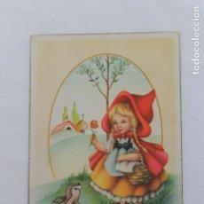 Postales: ANTIGUA POSTAL DE CAPERUCITA ROJA DE C Y Z, Nº 545/A. Lote 197771226