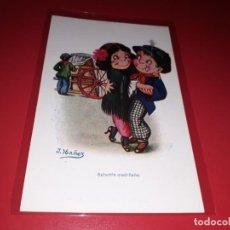 Postales: POSTAL SCHOTTIS MADRILEÑO . CARICATURAS J. IBAÑEZ N. 526. Lote 198054535