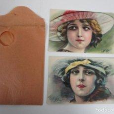 Postales: POSTALES CON SOBRE - M. GINI - T.A.M. PRODUZIONE ITALIANA. Lote 198079132