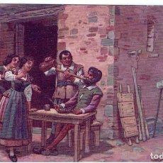 Postales: DON QUIJORTE DE LA MANCHA, NR.3. EN LA VENTA , EDIT.AMBOS MUNDOS, IMP-VIUDA DE TASSÓ, S/C.. Lote 198339801
