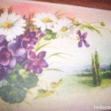 Postales: PAISAJE Y FLORES. Lote 198556275