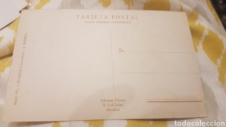 Postales: Tarjeta postal n.911 el adiós al hermano j ibánez - Foto 2 - 198650901