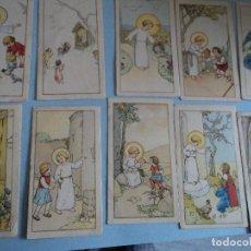 Postales: 10 ANTIGUAS MINI-POSTALES EDICIONES NB NUMERADAS DIFERENTES 7 X 4 CM. Lote 198882565