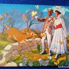 Postales: POSTAL DE LA PELÍCULA MARY POPPINS. DE WALT DISNEY. TARJEFHER # 328.. Lote 198921597