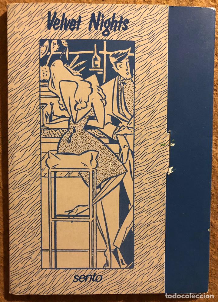 VELVET NIGHTS, POR SENTO. CARPETA CON SERIE COMPLETA 6 POSTALES. NORMA EDITORIAL (1985). (Postales - Dibujos y Caricaturas)