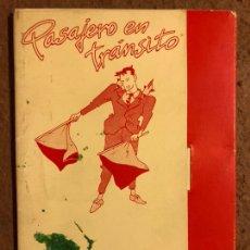 Postales: PASAJERO EN TRÁNSITO, POR PERE JOAN . CARPETA CON SERIE COMPLETA POSTALES (6), NORMA EDITORIAL 1984.. Lote 199335421