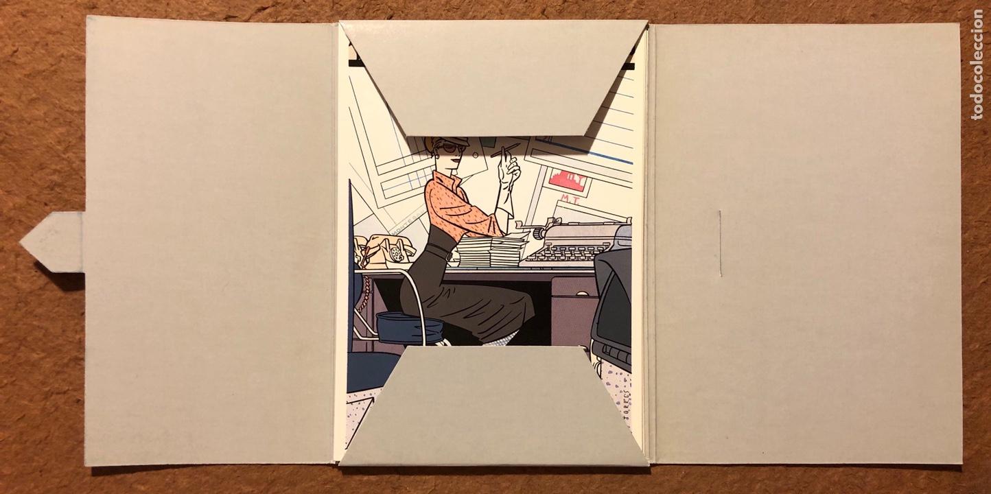 Postales: TRITÓN, POR DANIEL TORRES. CARPETA CON SERIE COMPLETA (6) POSTALES NORMA EDITORIAL 1984. - Foto 3 - 199335668