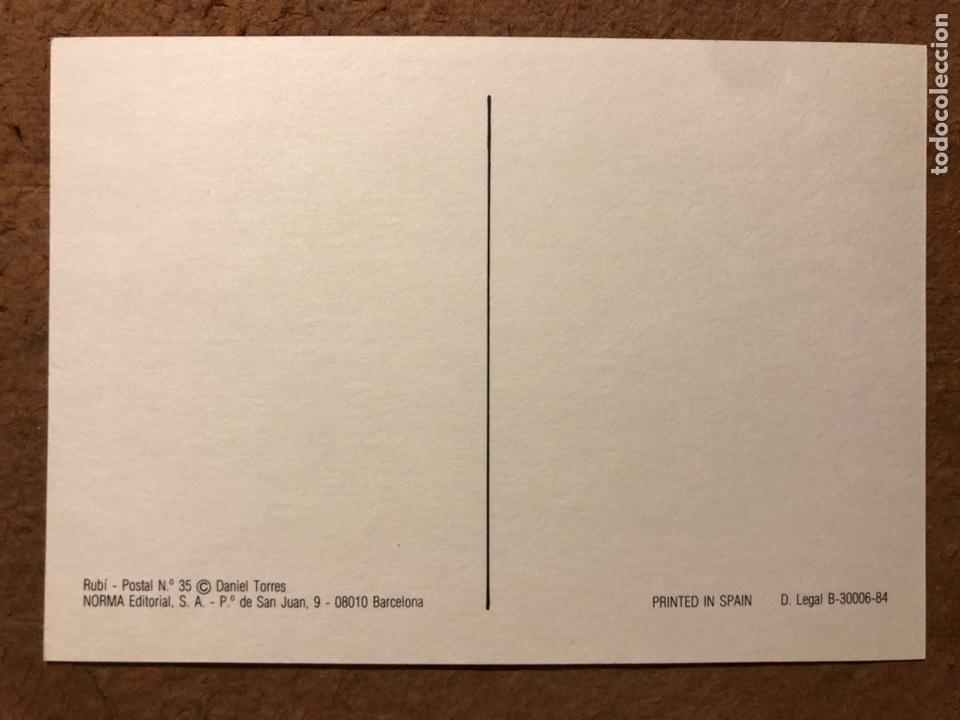 Postales: TRITÓN, POR DANIEL TORRES. CARPETA CON SERIE COMPLETA (6) POSTALES NORMA EDITORIAL 1984. - Foto 8 - 199335668