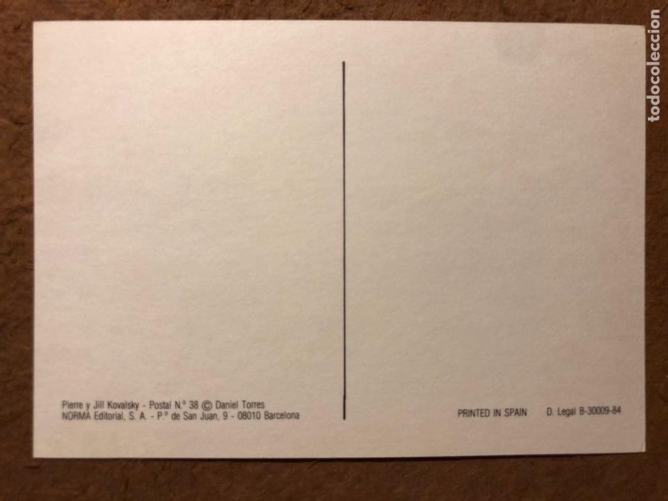 Postales: TRITÓN, POR DANIEL TORRES. CARPETA CON SERIE COMPLETA (6) POSTALES NORMA EDITORIAL 1984. - Foto 14 - 199335668