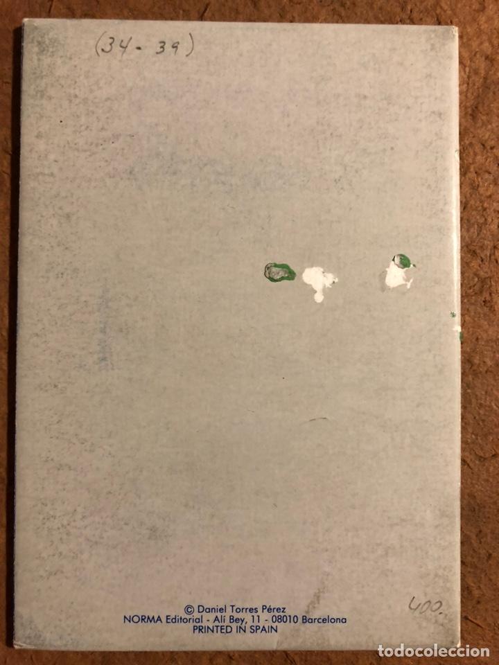 Postales: TRITÓN, POR DANIEL TORRES. CARPETA CON SERIE COMPLETA (6) POSTALES NORMA EDITORIAL 1984. - Foto 17 - 199335668
