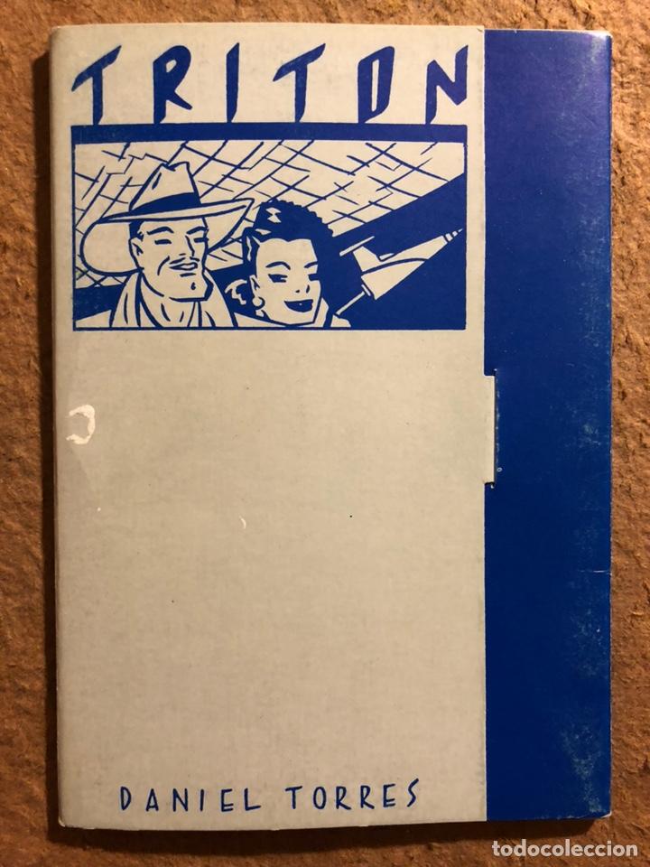 TRITÓN, POR DANIEL TORRES. CARPETA CON SERIE COMPLETA (6) POSTALES NORMA EDITORIAL 1984. (Postales - Dibujos y Caricaturas)