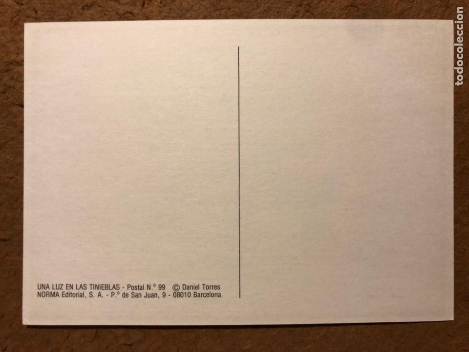 Postales: SAXXON, POR DANIEL TORRES. CARPETA CON SERIE COMPLETA (6) POSTALES NORMA EDITORIAL 1986. - Foto 10 - 199335832