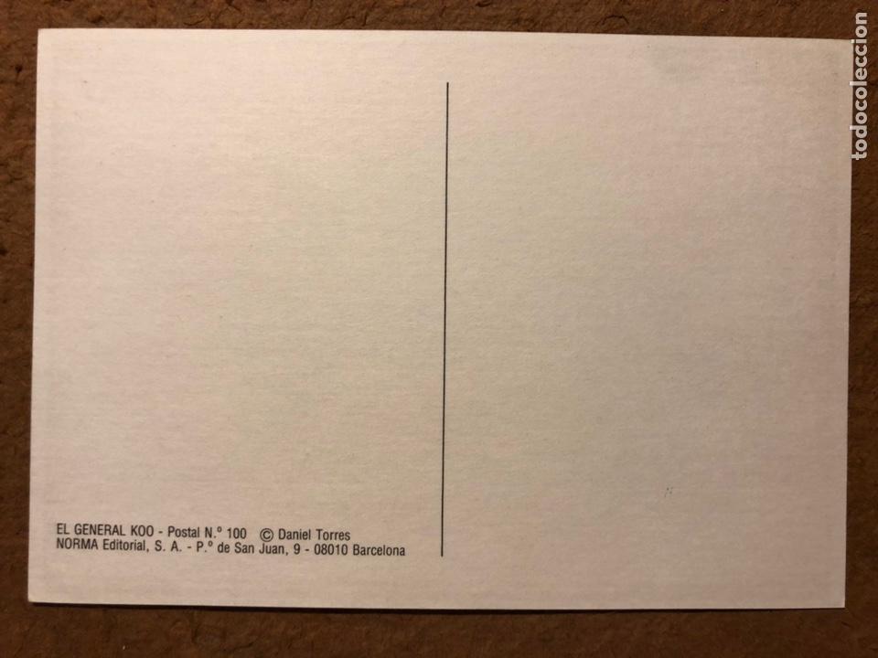 Postales: SAXXON, POR DANIEL TORRES. CARPETA CON SERIE COMPLETA (6) POSTALES NORMA EDITORIAL 1986. - Foto 12 - 199335832