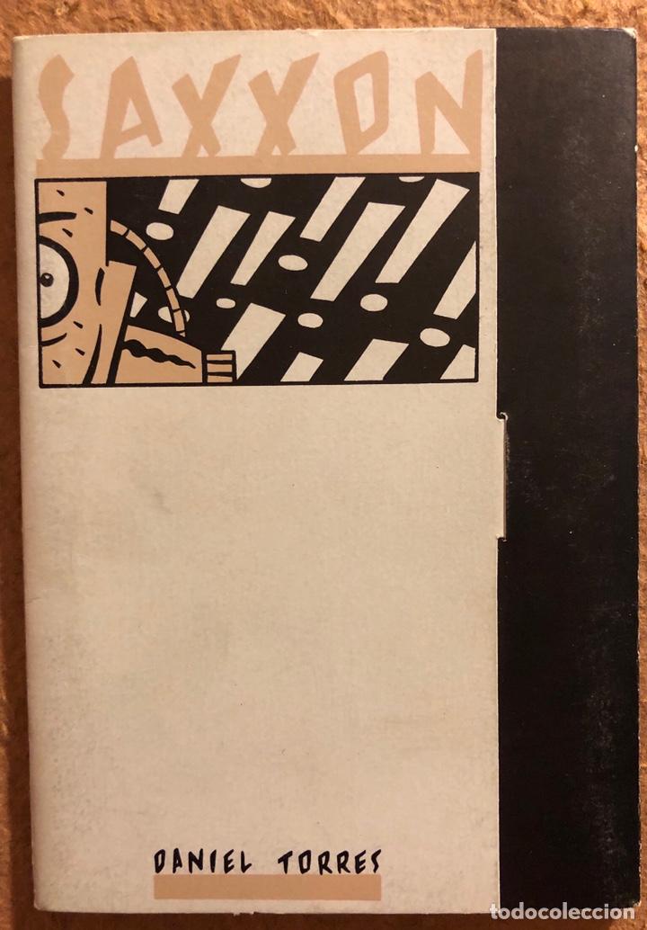 SAXXON, POR DANIEL TORRES. CARPETA CON SERIE COMPLETA (6) POSTALES NORMA EDITORIAL 1986. (Postales - Dibujos y Caricaturas)