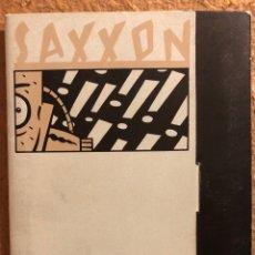 Postales: SAXXON, POR DANIEL TORRES. CARPETA CON SERIE COMPLETA (6) POSTALES NORMA EDITORIAL 1986.. Lote 199335832