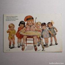 Postales: ANTIGUA POSTAL - Nº 1001 - COLECCIÓ RICAS - PEPETA, EL GOÇ NO BADA - MODERNISTA. Lote 200010613