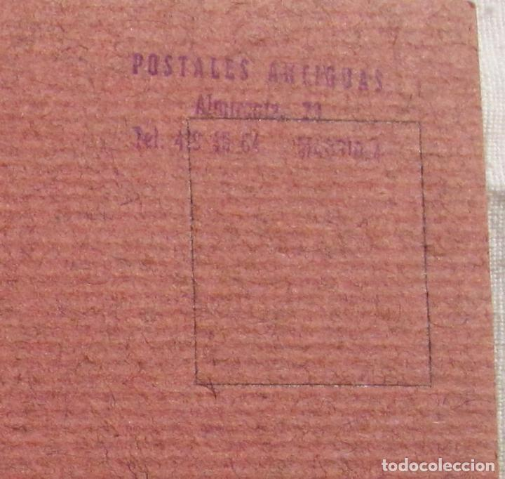 Postales: DIBUJO ORIGINAL SOBRE POSTAL CASA F. PONTES. 14 X 9 CM - Foto 4 - 201222062