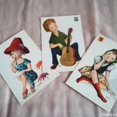 Postales: POSTALES DE DIBUJOS Y CARICATURAS.. Lote 202989293
