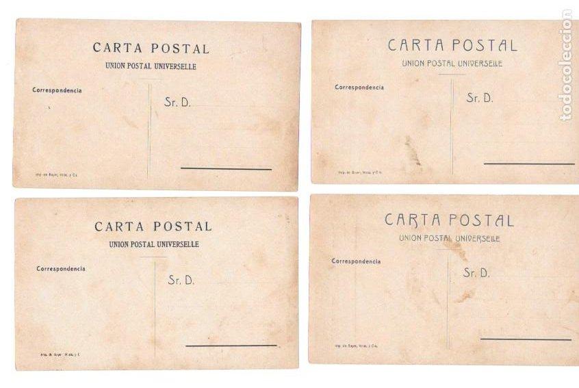 Postales: P-11483. GUINEA ESPAÑOLA. LOTE DE 9 POSTALES. SERIE J. NO CIRCULADAS. - Foto 2 - 203247111