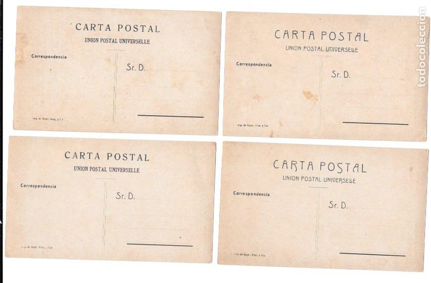 Postales: P-11483. GUINEA ESPAÑOLA. LOTE DE 9 POSTALES. SERIE J. NO CIRCULADAS. - Foto 4 - 203247111