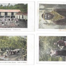 Postales: P-11483. LOTE DE 9 POSTALES. GUINEA ESPAÑOLA. SERIE J.. Lote 203247111