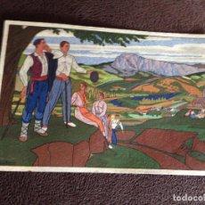 Postales: POSTALES VASCAS Nº 8 ,DIBUJOS JOSÉ ARRUE.LABORDE Y LABAYEN-TOLOSA.. Lote 203271660