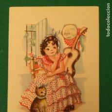 Postales: MELODIAS DE BOGA - LA TRINI - COLECCION U - SERIE 125 - EDICIONES ARTIGAS. Lote 203309007