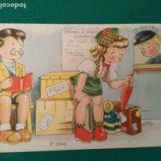 Postales: EL CLAVO - EXITOS DE LA PANTALLA - COLECCION A - SERIE 68 - EDICIONES ARTIGAS. Lote 203310050
