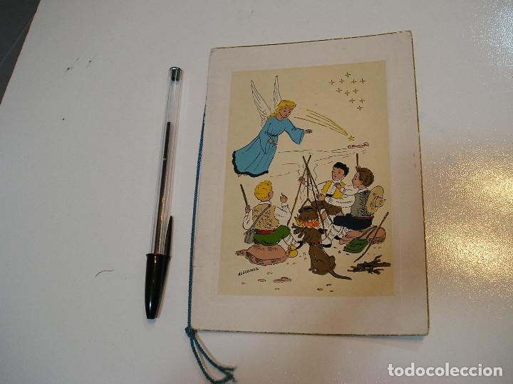 Postales: ANTIGUA POSTAL PINTADA A MANO AÑOS 50 APORTO MUCHAS FOTOS - Foto 2 - 203560035